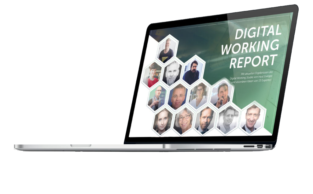 Studie der Arbeit - digital working report